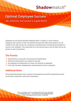 Optimal Employee Success