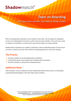 Team on-Boarding