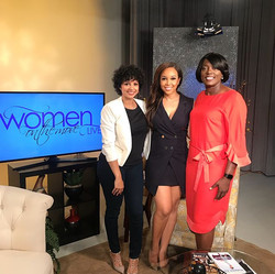 Press Day: Kierra Douglas and LeShonda Martin featured on Women on the Move TV