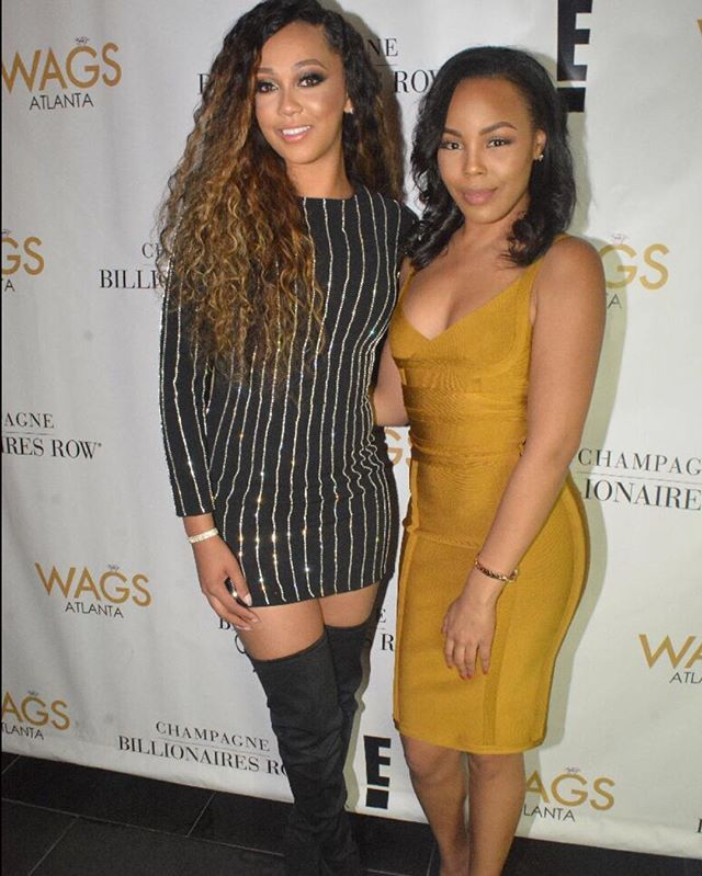 CEO, Jasmine Murray and client, Ariel Anderson of WAGS Atlanta on E!