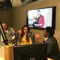 Press Day with Kierra Douglas and Harry Douglas #onair