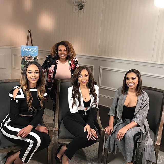Our WAGS Atlanta clients enjoying a press day