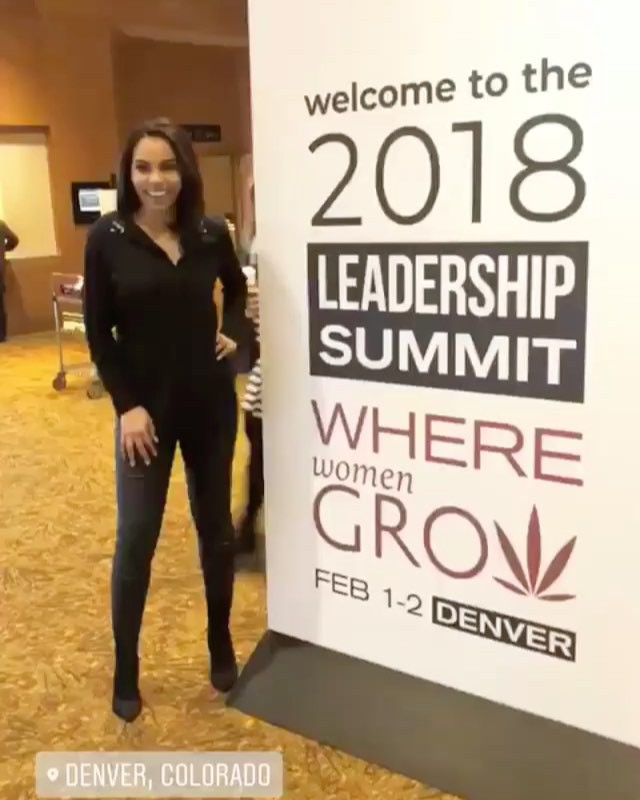 Client, Hope Wiseman, at the 2018 Women Grow Summit