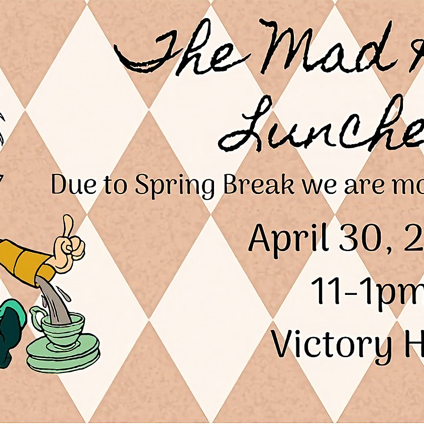 The Mad Hatter Luncheon