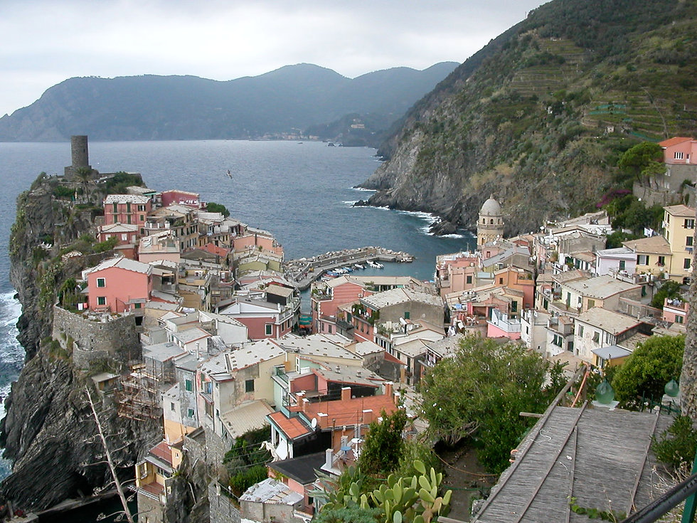 Image of Cinque Terre, Italy in Ross H. Dixon, DDS patient treatment room