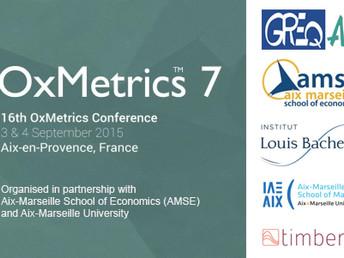 OxMetrics user Conference Aix-en-Provence