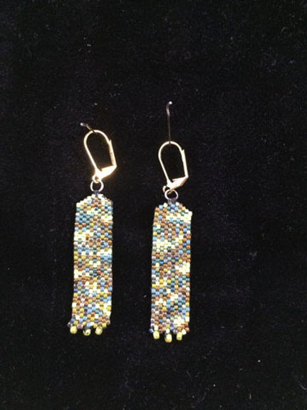 Column earrings 4