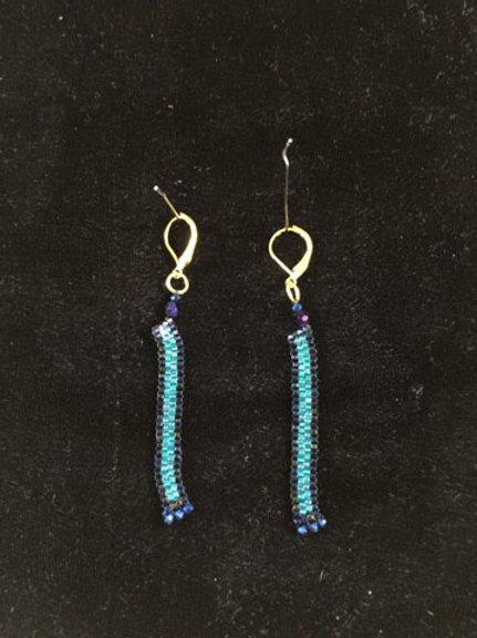 Column Earrings - Skinny