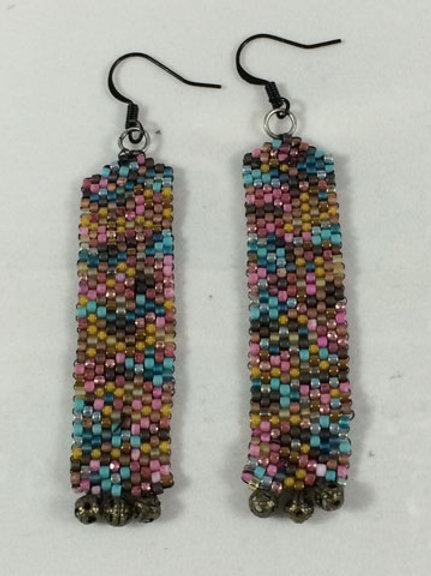 Column earrings 1
