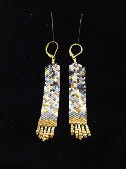 Column earrings 2