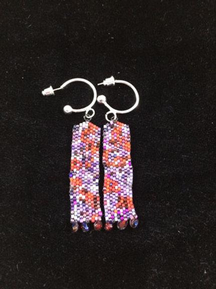 Column earrings 8