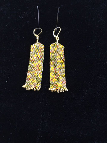 Column earrings 7