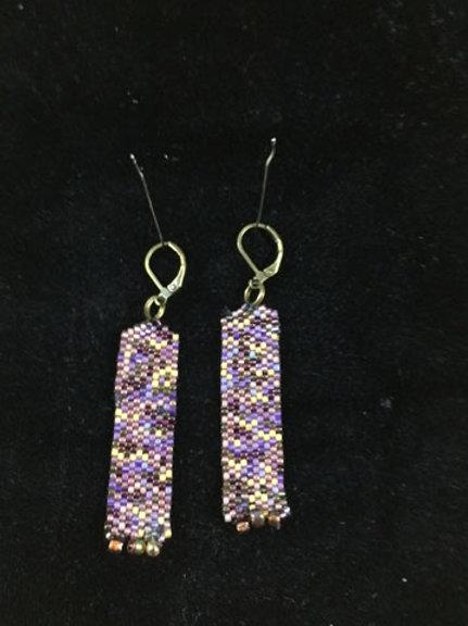 Column earrings 5