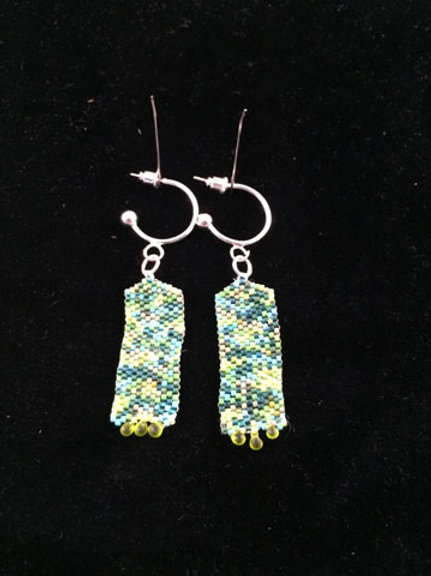 Column earring - Short - 1
