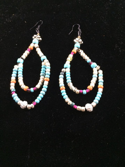 Strung earrings Collection 2