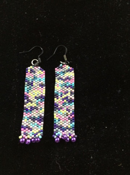 Column earrings 3
