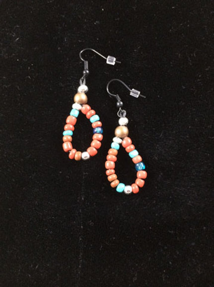 Strung earrings Collection 1