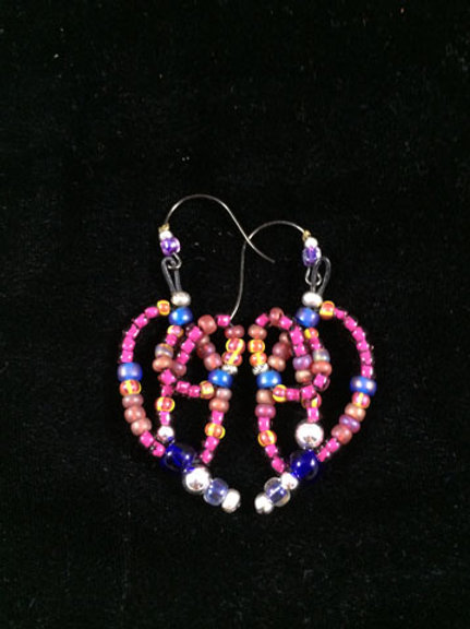 Strung earrings Collection 4