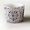 Thumbnail: Vasetto per piante decorato, 10 cm