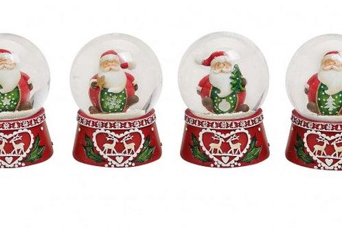 PN128 Palla Babbo Natale 4 cm