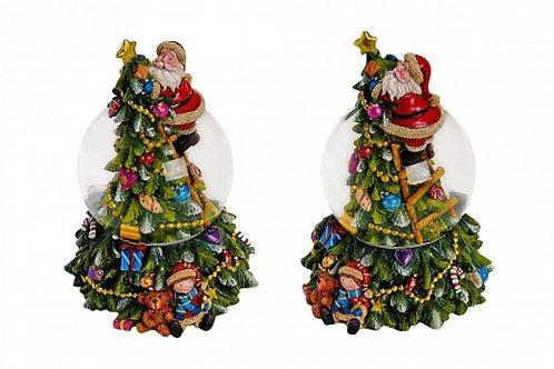 PN926 Palla Musica B/Natale 19 cm