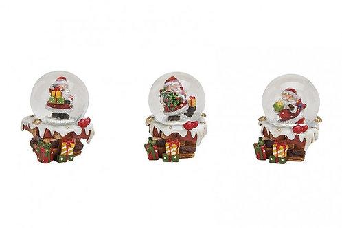 PN423 Palla B/Natale regali 6 cm