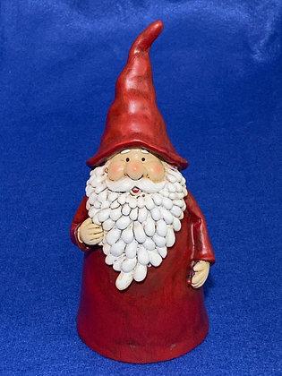 Babbo Natale barba lunga, 20 cm