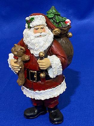 Babbo Natale con sacco, 21 cm