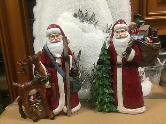 Babbo Natale con doni, 25 cm
