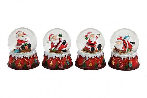 PN486 Palla Babbo Natale 9 cm