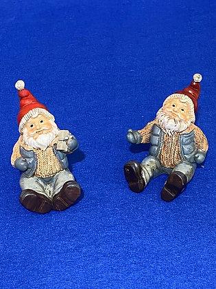 Babbo Natale seduto, 6 cm