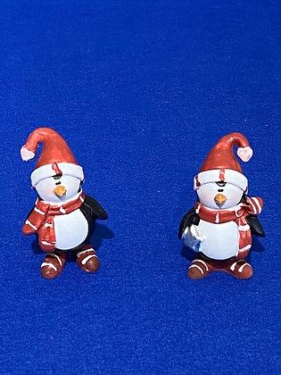 Pinguini con sciarpa, 6,5 cm