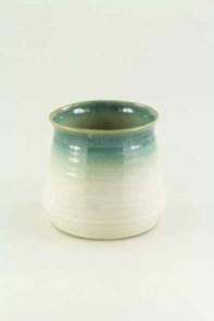 Vaso conico smaltato 15 cm