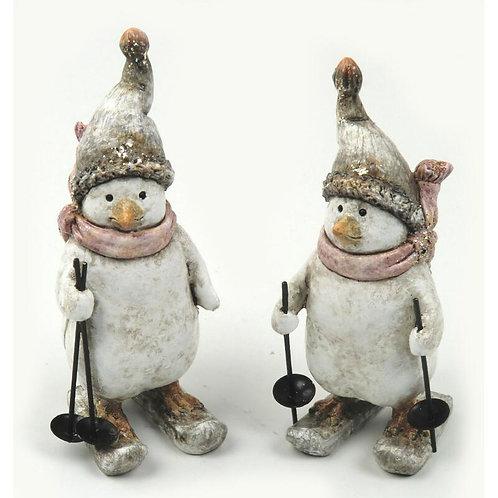 Pinguini con sci 14 cm