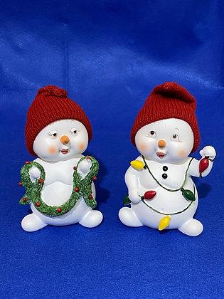 Pupazzi di neve, 15 cm