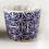 Thumbnail: Vasetto per piante tondo decorato, 9 cm