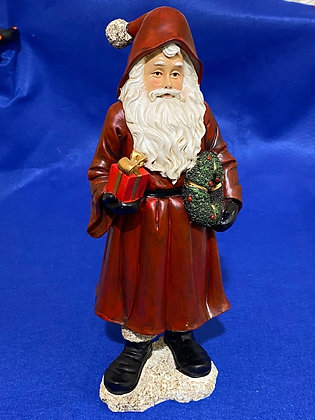 Babbo Natale con doni, 31 cm