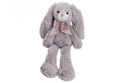Coniglio peluche grigio 11 cm