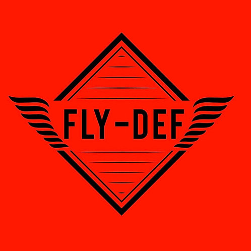 FLY-DEF Graphic Tee (Red)