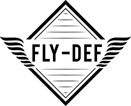 FLY-DEF Graphic Tee (White)