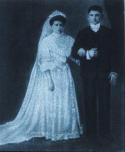 Casamento Alfredo Malagoli e Tereza Bazzoli