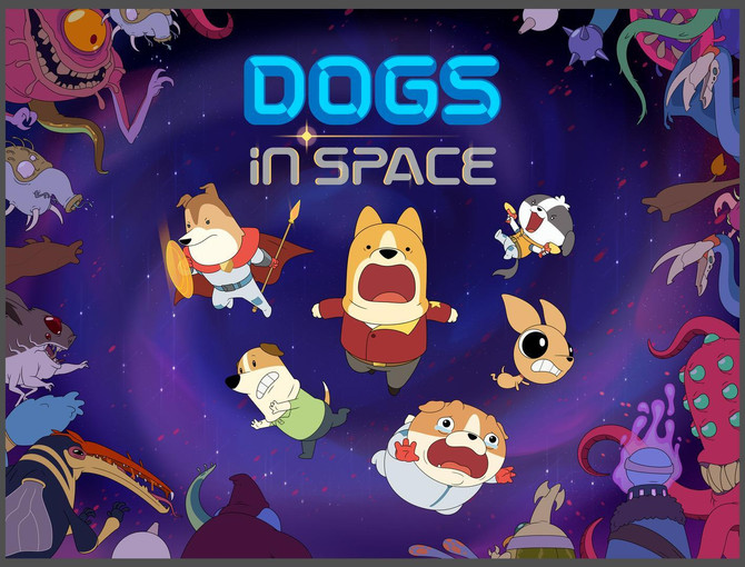 Netflix's DOGS IN SPACE announced!