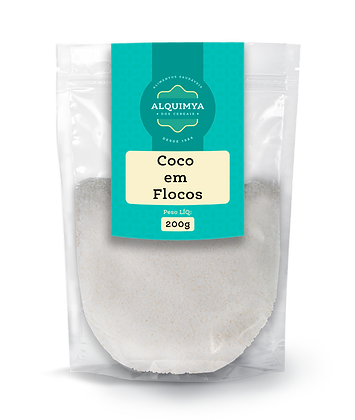 Coco em Flocos 200g