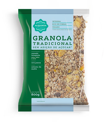 Granola Tradicional Sem Açúcar 800g