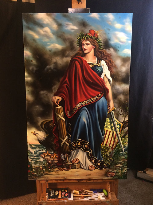 """Allegory of Americana"""