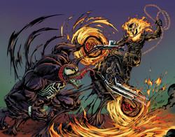 Venom_VS_GhostRider_Colors