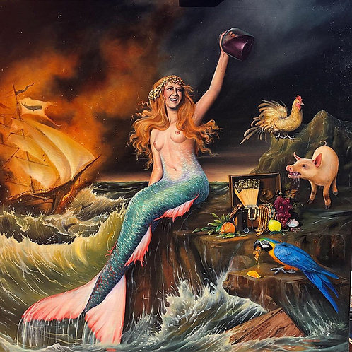 Sea of No Mercy archival print