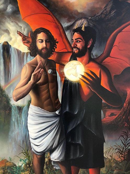 Satans Temptation of Christ