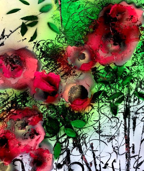 Tropical Floral Abstract