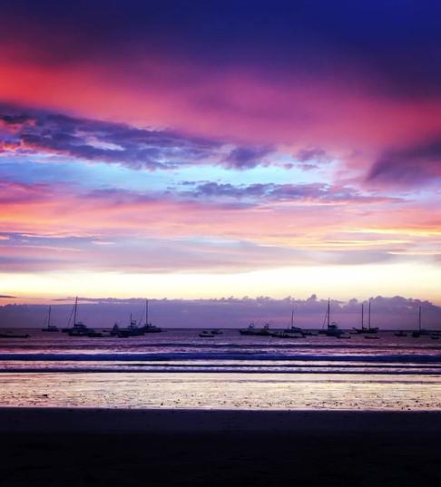 Zen, Space, Brilliant Beach Sunset